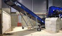 Accessories conveyor belts - radial slewing conveyor