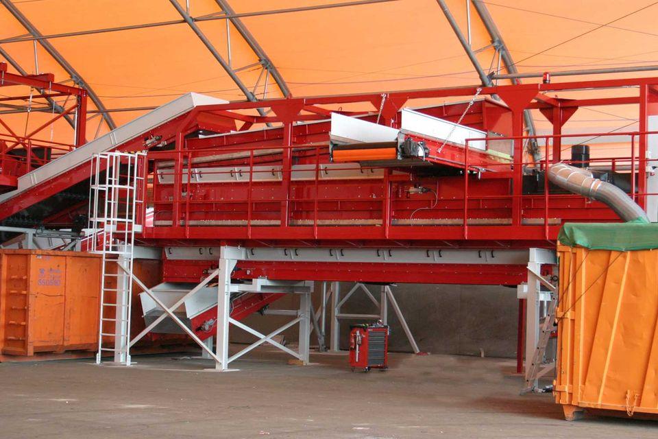 Stationäre Sternsiebmaschine MULTISTAR 3-SE