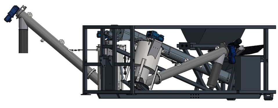 Multiwash Hook - Drehbare Lagerung Sandwäscher