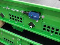 Accessories conveyor belts - emergency stop device