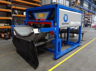 SPLITTER Container Unit - Twin Wave Siebdeck, Aufbereitung von Kanalsand & Straßenkehricht