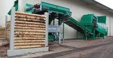 SPLITTER in der Anwendung Altholz und Sperrmüll