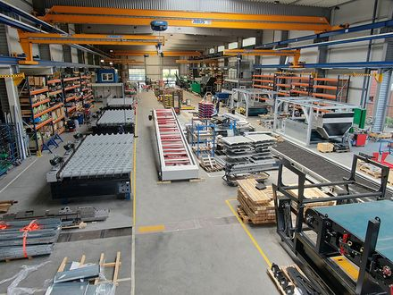 Anlagenbau GÜNTHER Montagehalle