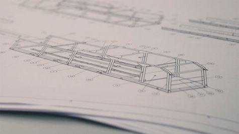 Projektplanung inkl. Konstruktion am Standort in Wartenberg