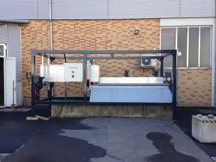 SPLITTER Container Unit - Aufbereitung von Kanalsand & Straßenkehricht