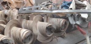 Baumisch- und Bauabbruchabfall - Spiralwellensieb SPLITTER