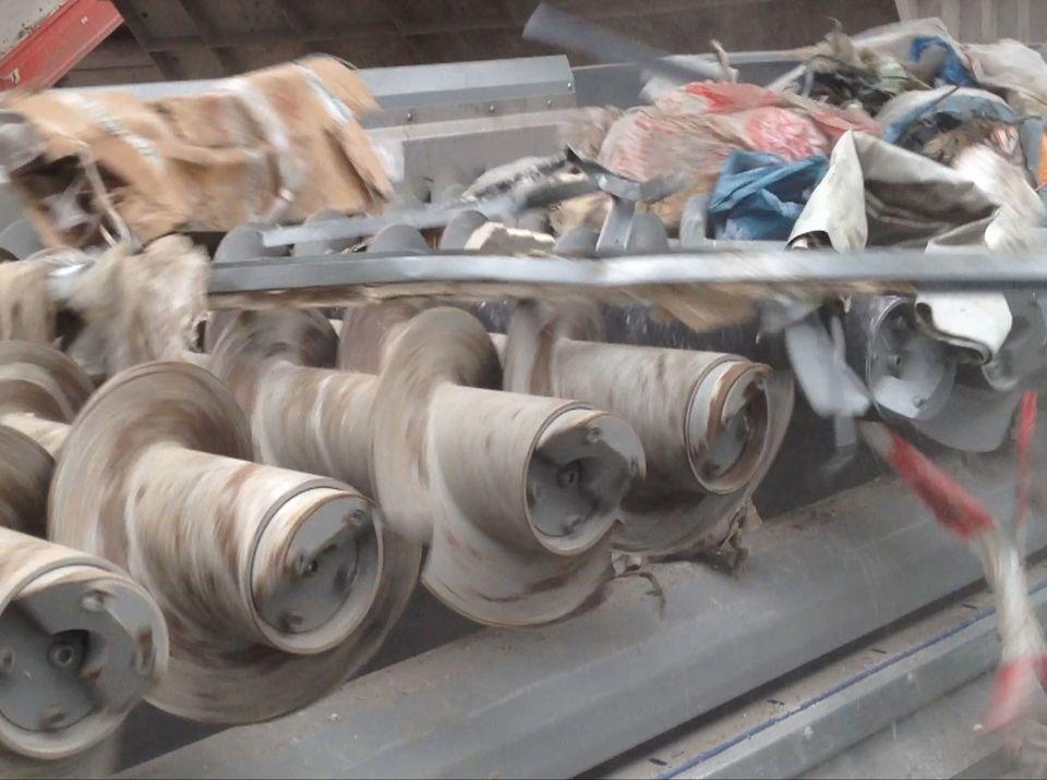 SPLITTER in der Anwendung Baumisch - Aufbereitung und Baumischabfälle