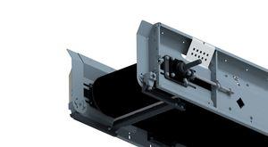 Accessories conveyor belts - lower belt scraper