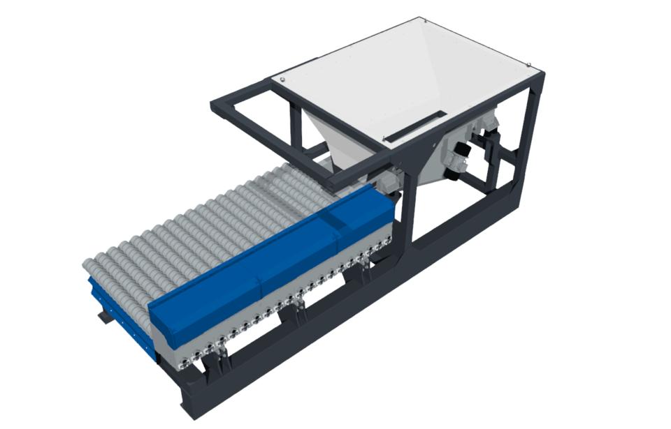 SPLITTER Container Unit - Sandbehandlung stationär