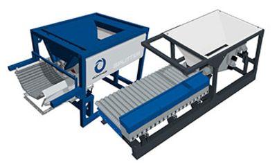 SPLITTER - Container Units, Aufbereitung Kanalsand & Straßenkehricht