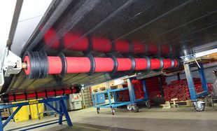 Conveyor belts - Lower belt roller