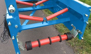 Conveyor belts - Reversing roller