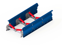 Uni-band as a troughed belt double - Conveyor technology