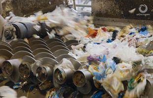 Anlagenbau - Leichtverpackungen Recycling - SPLITTER - Spiralwellenseparator