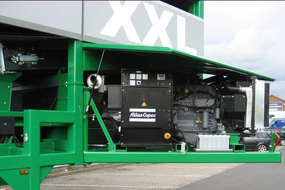 Hochleistungs Sternsiebmaschine MULTISTAR XXL3