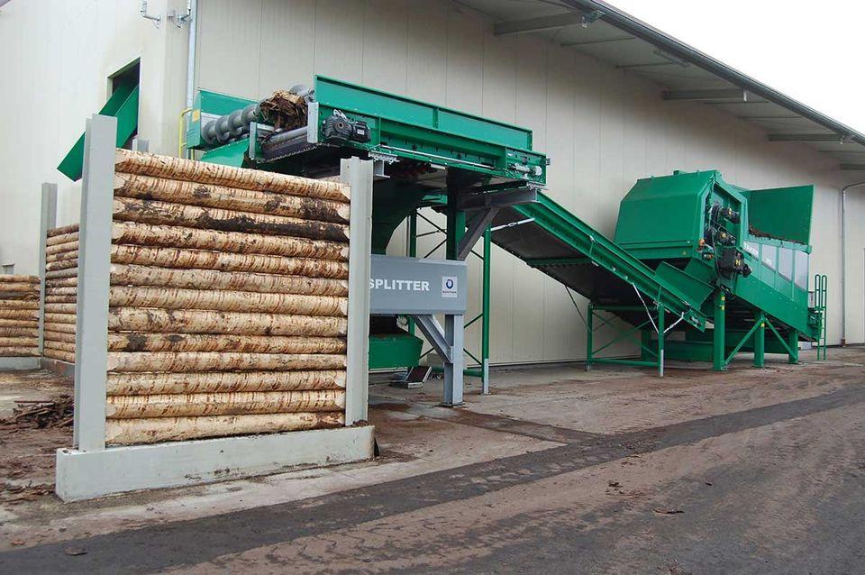 Anlagenbau und Aufbereitungstechnik für Altholz und Sperrmüll