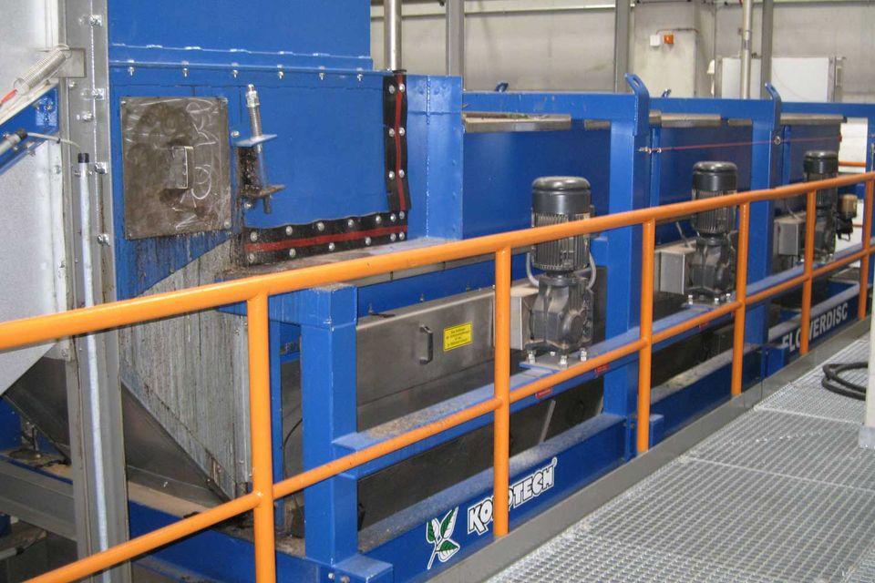 Scheibenseparator und Stahlscheibensieb FLOWERDISC