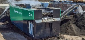 Sternsiebtechnologie MULTISTAR - Anlagenbau Günther - Recyclingtechnik