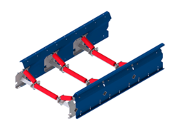 Uni-band as a troughed belt triple - Conveyor technology