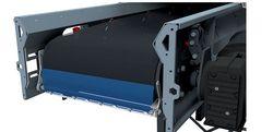 Head scraper - accessories conveyor belts
