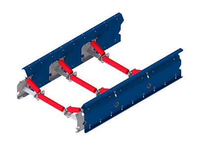 Uni-Band als Muldenband - 3-fach gemuldet - Fördertechnik und Fördersysteme