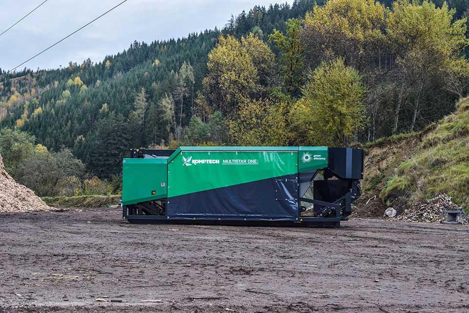 Zwei-Fraktionen Sternsieb MULTISTAR ONE - Anlagenbau Günther - Recyclingtechnik