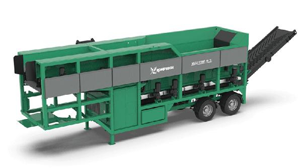MULTISTAR XL3 - mobile Sternsiebmaschine