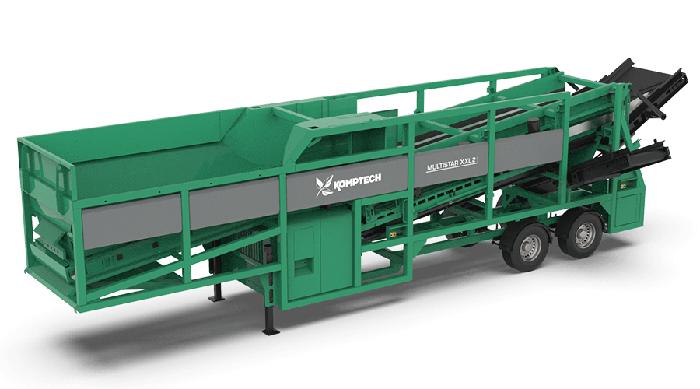 MULTISTAR XXL2 - mobile 2-Fraktionen-Sternsiebmaschine
