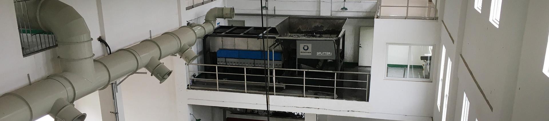 Spiralwellensieb SPLITTER Container Unit – Flat und Twin Wave Siebdeck